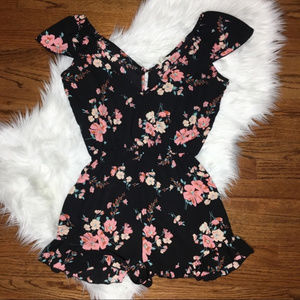 Urban Outfitters Pins & Needles Floral Romper